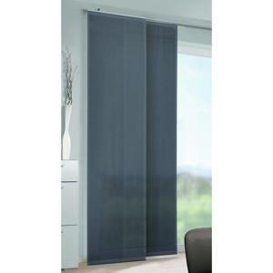 Albani závěsový panel voál Conny pruhy tmavě šedá, 245 x 60 cm