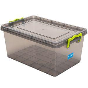 Aldotrade Plastový úložný box 3 l, šedá