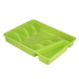 Altom Plastový příborník 34 x 26 x 4,5 cm, zelená