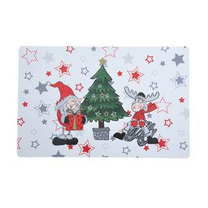 Altom Vánoční prostírání Zimní Elf u stromečku, 28 x 43 cm, sada 4 ks