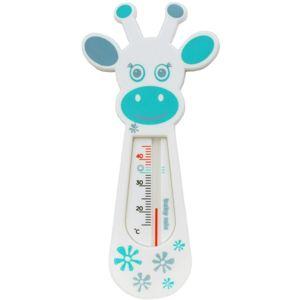 Baby Mix Dětský teploměr do vaničky Žirafa, modrá