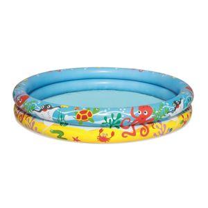 Bestway Nafukovací set - bazén, plavací kruh a míč, 3 ks
