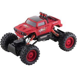 Buddy Toys BRC 14.614 Auto na dálkové ovládání RC Rock Climber, červená