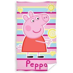 Dětský ručník Prasátko Peppa, 30 x 50 cm