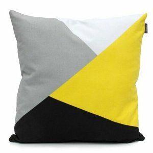 "Domarex Polštářek Yellow Space Love ""ULTRA"", 45 x 45 cm"