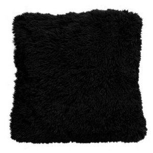 Domarex Povlak na polštář Muss černá, 40 x 40 cm