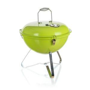 Happy Green Zahradní gril Picnic zelená, pr. 36 cm
