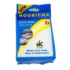 Houbička MAGIC NANO 10 x 6 x 2,7 cm, sada 5 ks