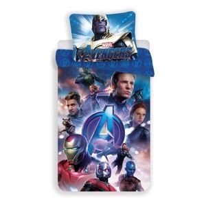 Jerry Fabrics Bavlněné povlečení Avengers Endgame, 140 x 200 cm, 70 x 90 cm