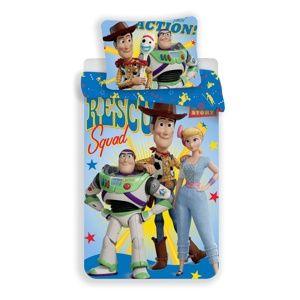 Jerry Fabrics Dětské bavlněné povlečení Toy Story, 140 x 200 cm, 70 x 90 cm