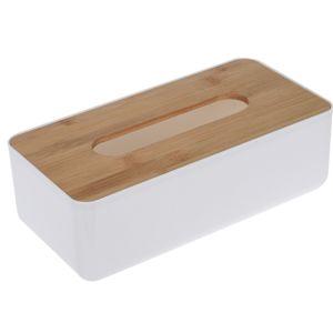 Bambusový box na kapesníky Jeanne, 26 cm