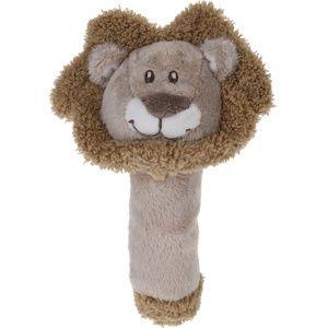 Koopman Dětské plyšové chrastítko Lev, 16 cm