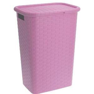 Koopman Koš na prádlo 60 l, růžová