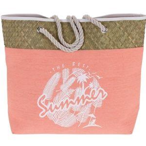 Koopman Plážová taška The best summer, růžová