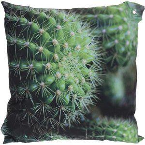 Koopman Polštářek Kaktusy zelená, 45 x 45 cm