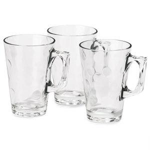 Koopman Sada sklenic s ouškem 250 ml, 3 ks