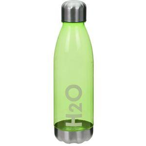 Koopman Sportovní láhev s nerezovým víčkem 700 ml, zelená