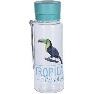 Koopman Sportovní láhev s uzávěrem 600 ml, tukan