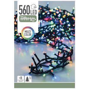 Koopman Světelný vánoční řetěz Cluster barevná, 560 LED