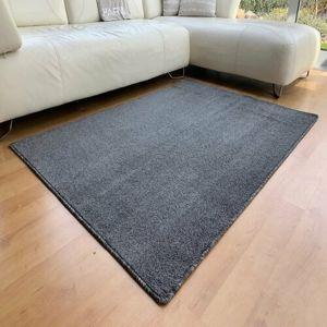 Kusový koberec Capri antracit, 80 cm
