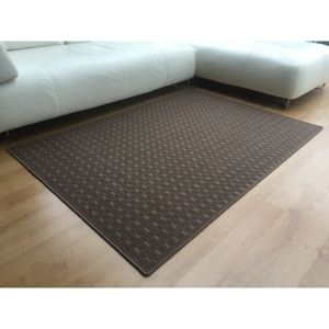 Kusový koberec Valencia hnědá, 140 x 200 cm