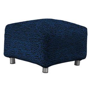 Multielastický potah na taburet Petra modr
