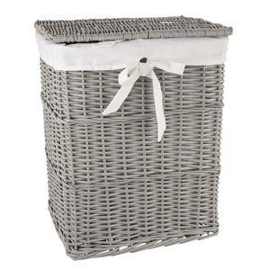 Orion Koš na špinavé prádlo, 45 x 35 x 56 cm, šedá