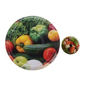 Orion Sada víček se závitem Zelenina 8,5 cm, 10 ks