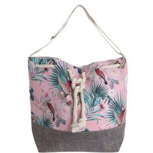 Plážová taška Jungle, růžová
