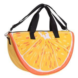 Plážová taška Pomeranč oranžová, 49 x 28 x 15 cm