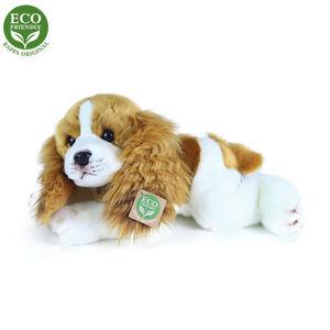 Rappa Plyšový ležící pes Kavalír King Charles Španěl, 30 cm