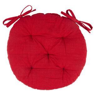 Sedák Red prošívaný kulatý, 40 cm
