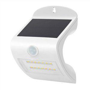 Solight WL907 Solární LED světlo se senzorem, bílá