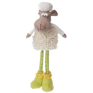 Stojící textilní ovečka Bely 41 cm, nastavitelná výška