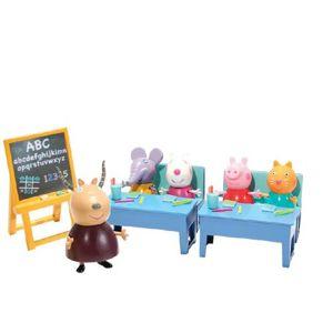 TM Toys Hrací set Školní třída Prasátka Peppy, 10 ks