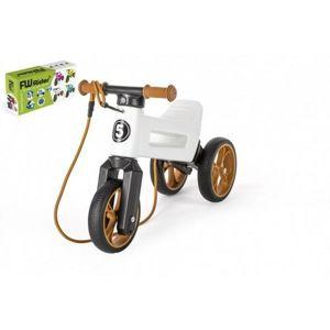 Teddies Odrážedlo Funny wheels Rider SuperSport 2v1, bílá