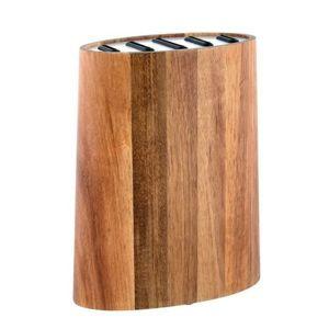 Toro Blok na nože z akátového dřeva, hnědá