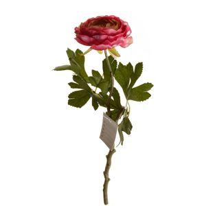 Umělá rostlina Pryskyřník plnokvětý,  32 cm