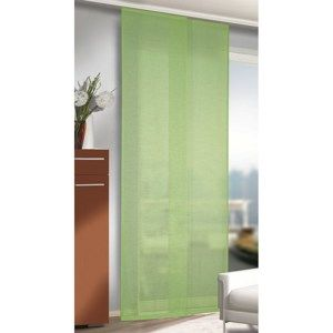 Albani závěsový panel Alex zelená, 245 x 60 cm