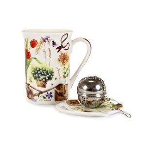 Banquet Garden 3dílná čajová sada