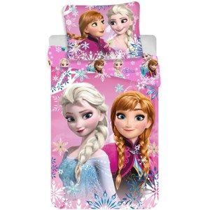 Dětské bavlněné povlečení Ledové království Frozen sisters 02, 140 x 200 cm, 70 x 90 cm