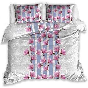 Bavlněné povlečení Magnolie, 140 x 200 cm, 70 x 90 cm