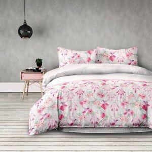 DecoKing Flanelové povlečení Sweet Dreams, 200 x 220 cm, 2 ks 70 x 90 cm