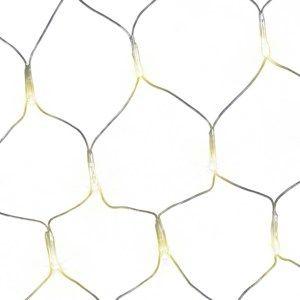 DecoKing Světelná síť teplá bílá, 200 LED