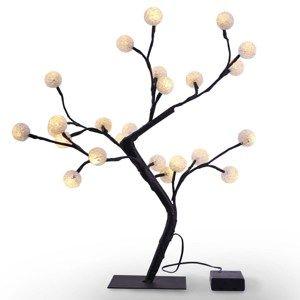 DecoKing Světelný stromek Bonsaj teplá bílá, 24 LED