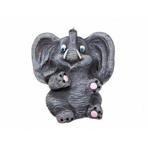 Dekorativní svíčka Slon