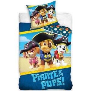 Dětské bavlněné povlečení Tlapková Patrola Piráti, 140 x 200 cm, 70 x 90 cm