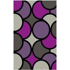 Habitat Kusový koberec Super Vizyon 5134/458 fialová, 80 x 150 cm