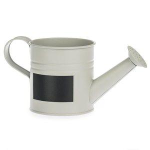 Konvička se štítkem šedá, pr. 10 cm
