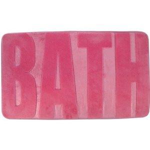 Koupelnová předložka Bath tmavě růžová, 45 x 75 cm